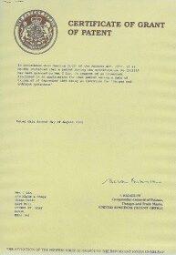 イギリスの特許
